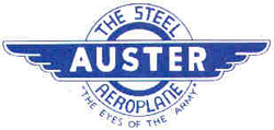 The Steel Aeroplane is what the Auster was called in the factory advettisements, a title which is certainly earned... the Auster is 25% heavier than the American Taylorcraft, despite being the exact same size and design!