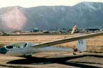 Minden ! :: This is my brand new AS-W20 BL at the greatest soaring site in the world... Minden, Nevada... in 1986. I was competing in the first Sports Class Nationals... I placed 9th